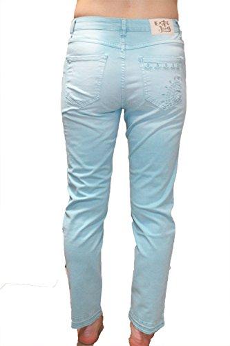 Jeans Femmes Desigual Slim Bleu Kelios 64qqwUR