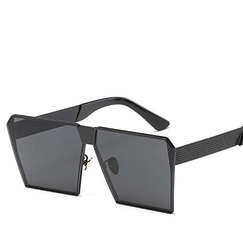 Hd WHLDK Y Gray Sol De Black Gafas Gafas Mujeres Full Box De The De Sol Con Gafas Retro Sol Hombres Estilo wwqYS