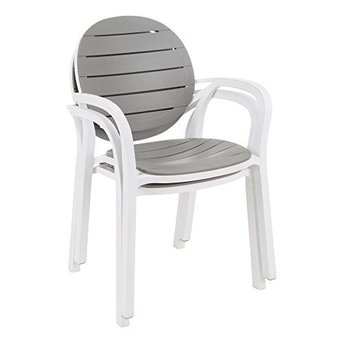 - Norwood Commercial Furniture Indoor/Outdoor Stack Chair (Pack of 2)