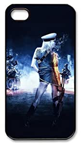 icasepersonalized Personalized Protective Case for iPhone 4/4S - Battlefield 3 Girl
