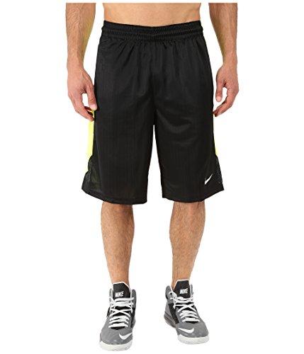 Nike Men's Layup Shorts 2.0, Volt/Black/White, SM