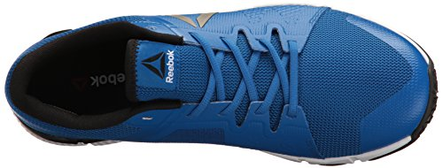 Reebok Men's Trainflex Cross-Trainer Shoe Awesome Blue/White/Black/Pewter clearance popular voSPj