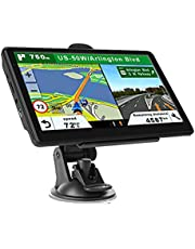 """Mingbao 7"""" Inch Touchscreen Car & Truck GPS Navigation Navigator Sat 8GB 256MB Auto RV GPS Navigation System, Spoken Turn by Turn Directions, Speed Limit Warnings+ 2021 Map US"""