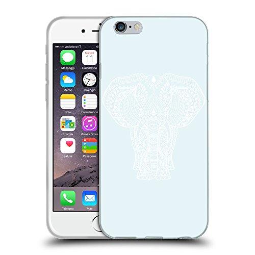 GoGoMobile Coque de Protection TPU Silicone Case pour // Q09600619 Éléphant indien 2 Bulles // Apple iPhone 7