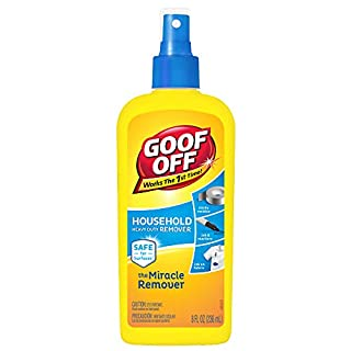 Goof Off - Household Heavy Duty Remover for Spots, Stains, Marks, and Messes – 8 fl. oz. (FG708)