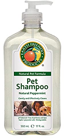 Earth Friendly Products Natural Pet Shampoo Natural Peppermint - Friendly Cat