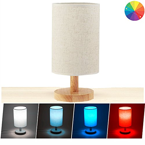 Wood Hub (Cevitor Smart Home Wifi Table Lamp, Alexa Vioce Control, Minimalist Solid Wood Bedside Desk Lamp,Not Hub Required)