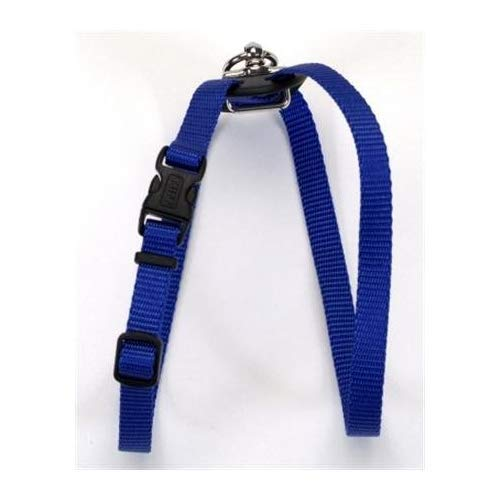 Size Right Adjustable Harness Blue 24 to 30 In. Girth with a Width of 3/4 in.