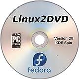 Fedora Linux 29, KDE Desktop Edition, Live Boot / Install, 64 Bit