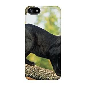 New Shockproof Protection Case Cover For Iphone 5/5s/ Beautiful Panther Case Cover