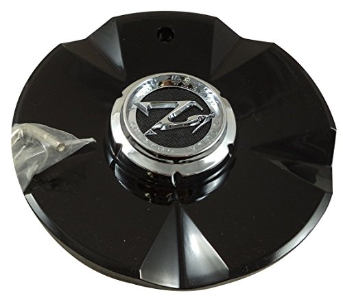(ZINIK Z20 RWD / MS-CAP-Z198 Gloss Black Wheel Center Cap (2 CAPS))