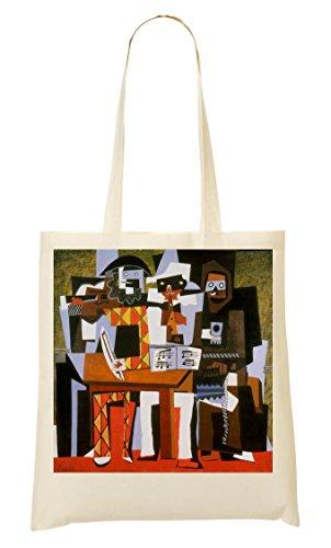 Sac Pablo Tout Three Provisions Musicians Sac À Fourre Picasso w44Tt