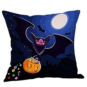 YGbuy Single Halloween PatróN Divertido Sofá Almohada Funda ...