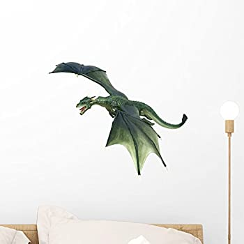 Dragon Wall Decal By Wallmonkeys Peel And Stick Graphic (18 In W X 15 In