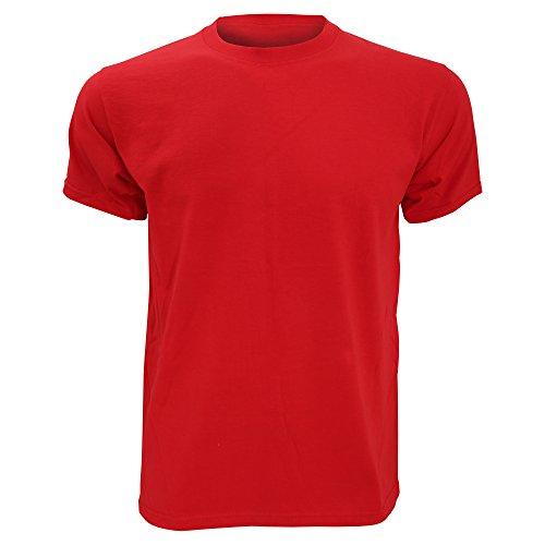 Fruit Of The Loom - Camiseta Básica de manga corta para hombre fabricada con 100% Algodón de Calidad Superior Belcoro® Azul Royal