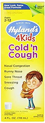Hyland's Homeopathic 4 Kids Cold 'n Cough Day and Night Value Pack