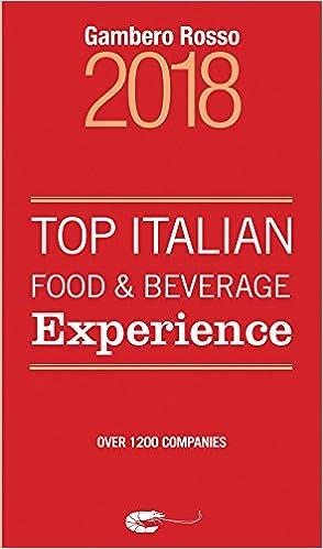 Top Italian Food & Beverage Experience 2018: Gambero Rosso