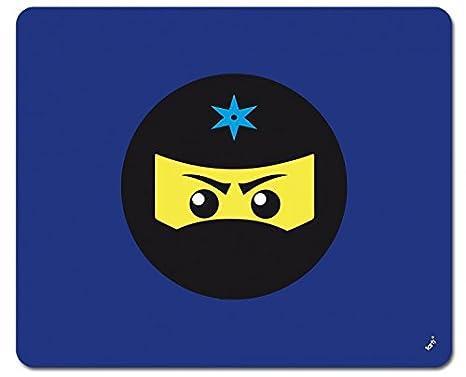 Amazon.com: 1art1 Gaming Mouse Pad - Ninja Icon, Blue (9 x 7 ...