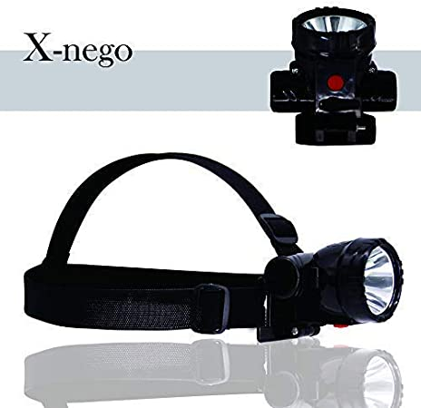 Rechargeable Lightweight Waterproof Wide-Angle 8000 Lumens LETOUR LED Headlamp
