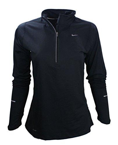 Nike 1/2 Half Zip Element Womens Top (S)