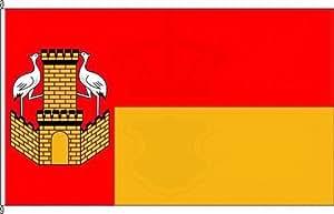 Bandera Bandera pequeña grúa Burg–40x 60cm