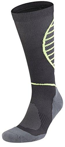 SA SocksAbility Mens`s Techno P.E. Fiber Knee High Athletic Performance Compression Socks (M - US Shoe Size (7-9.5))