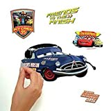 RoomMates RMK1520SCS Disney Pixar Cars Piston Cup