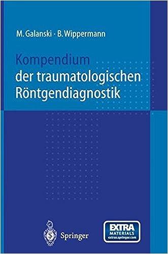 Book Kompendium Der Traumatologischen Rontgendiagnostik