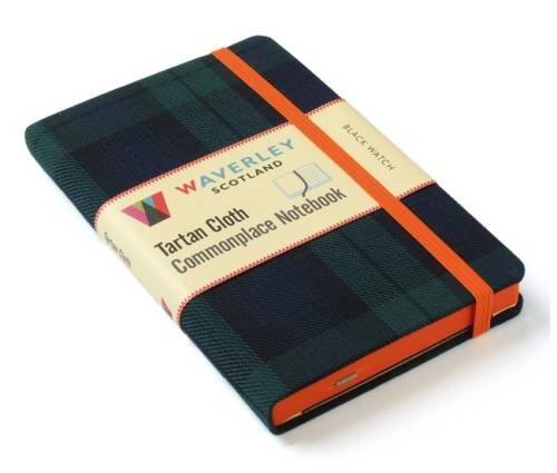 Black Watch: Waverley Genuine Tartan Cloth Commonplace Notebook