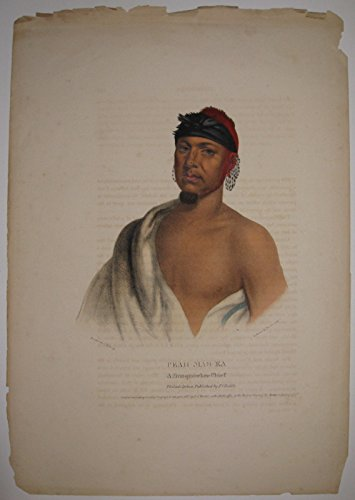 Peah-Mas-Ka: A Musquawkee Chief