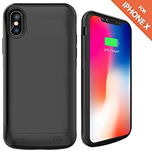 iphone 5 rechargeable case iphone x battery ruky 6000 mah rechargeable extended 14561