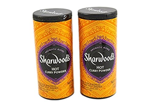 - Sharwood's Hot Curry Powder, 3.6 oz (102g), Pack of 2