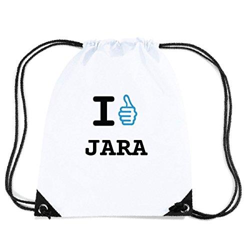 JOllify JARA Turnbeutel Tasche GYM5465 Design: I like - Ich mag