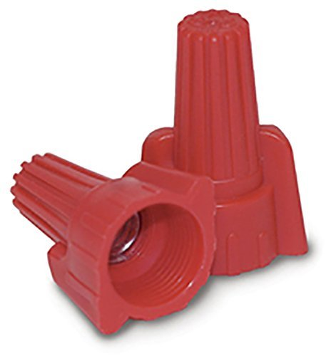 King Innovation 67091 Contactors' Choice Red Wing Wire Connector, Pack of 500