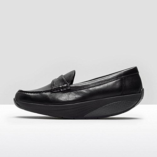 MBT Loafers Woman 5-5,5 US/36 EU Black Leather Mbt Fitness Shoes