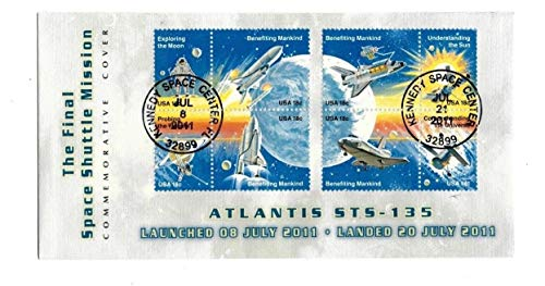 Rare First Day Covers - US Scott 1912 - Space Achievement 18C First Day Cover - Final Space Shuttle