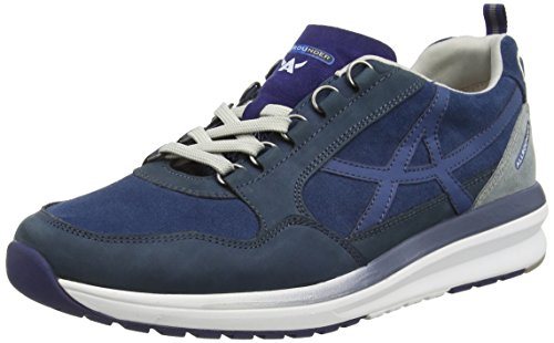 ALLROUNDER Men's Escudo Suede Lace up Trainer Shoe (AE007) Hawai rToNL