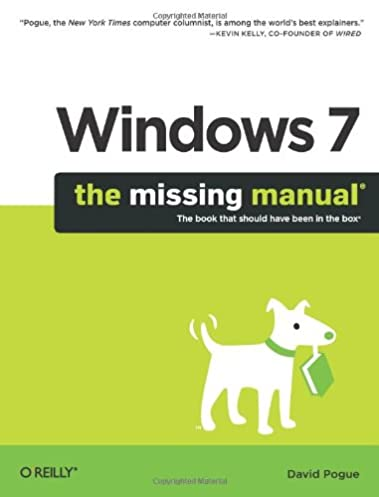 windows 7 the missing manual missing manuals david pogue rh amazon com Windows 7 Start Menu windows 7 user manual