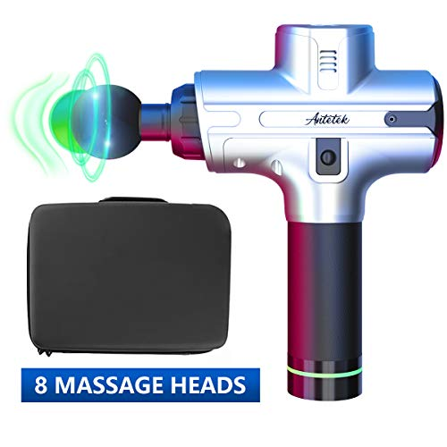 Muscle Massage Gun,Upgraded Muscle Massager,Deep Tissue Muscle Massager,Cordless Percussion Massager 2020