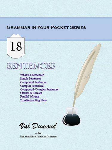 - Sentences (Grammar In Your Pocket Book 18)