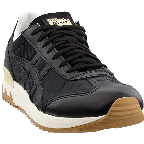 (Onitsuka Tiger Unisex California 78 EX Shoes 1183A031, Black/Black, 9 M US)