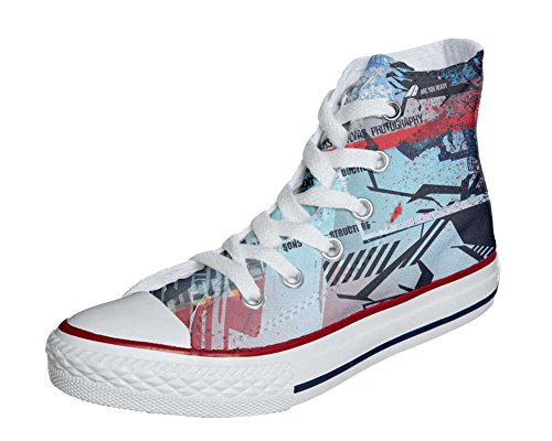 Converse All Star Customized - Zapatos Personalizados (Producto Artesano) Street Style