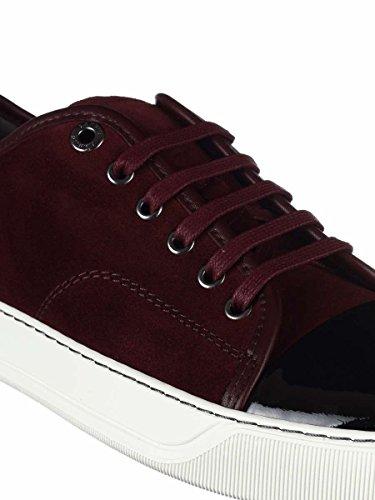 cheap Lanvin Men's FMSKDBB1VBALP15391 Burgundy Leather Sneakers pre order online shopping online outlet sale great deals sale online 094Py4qW