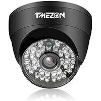 TMEZON AHD Camera 1080P 4 IN 1(AHD/CVI/TVI/960H)Security Camera 2.0 Megapixel Night Vision 3.6mm Outdoor 48 IR LEDs Day Night Vision with OSD Menu