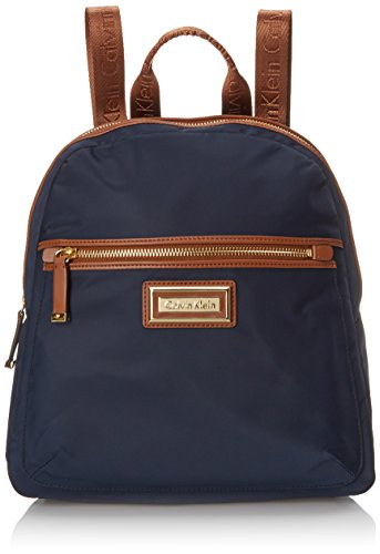 Calvin Klein 4 AP Nylon Backpack, Navy, One Size by Calvin Klein