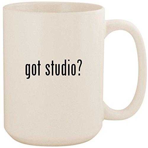 got studio? - White 15oz Ceramic Coffee Mug Cup ()