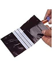 neolab 1–7134LDPE Bolsa de plástico, 200mm de ancho, 300mm de altura, color negro (100unidades)