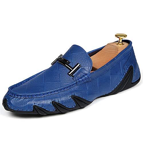 donna gommino gommino d'affari Scarpe da da 0cm EU vera basse dimensioni in Dimensione 42 Scarpe Mocassino 24 basse uomo blu pelle da comfort 27 Hcwtx 0cm barca Mocassino Scarpe wIqxTn8C4