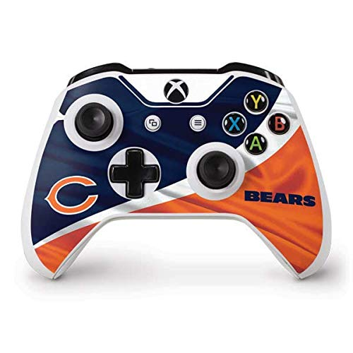 (Skinit Chicago Bears Xbox One S Controller Skin - Officially Licensed NFL Gaming Decal - Ultra Thin, Lightweight Vinyl Decal Protection)