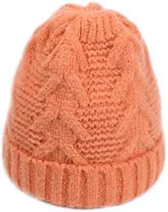 3aed80ac2e0 Knitted Hat Women Autumn Winter Hats Fashion Skullies Beanies Bonnet Gorros  Warm Female Soft Caps Russia